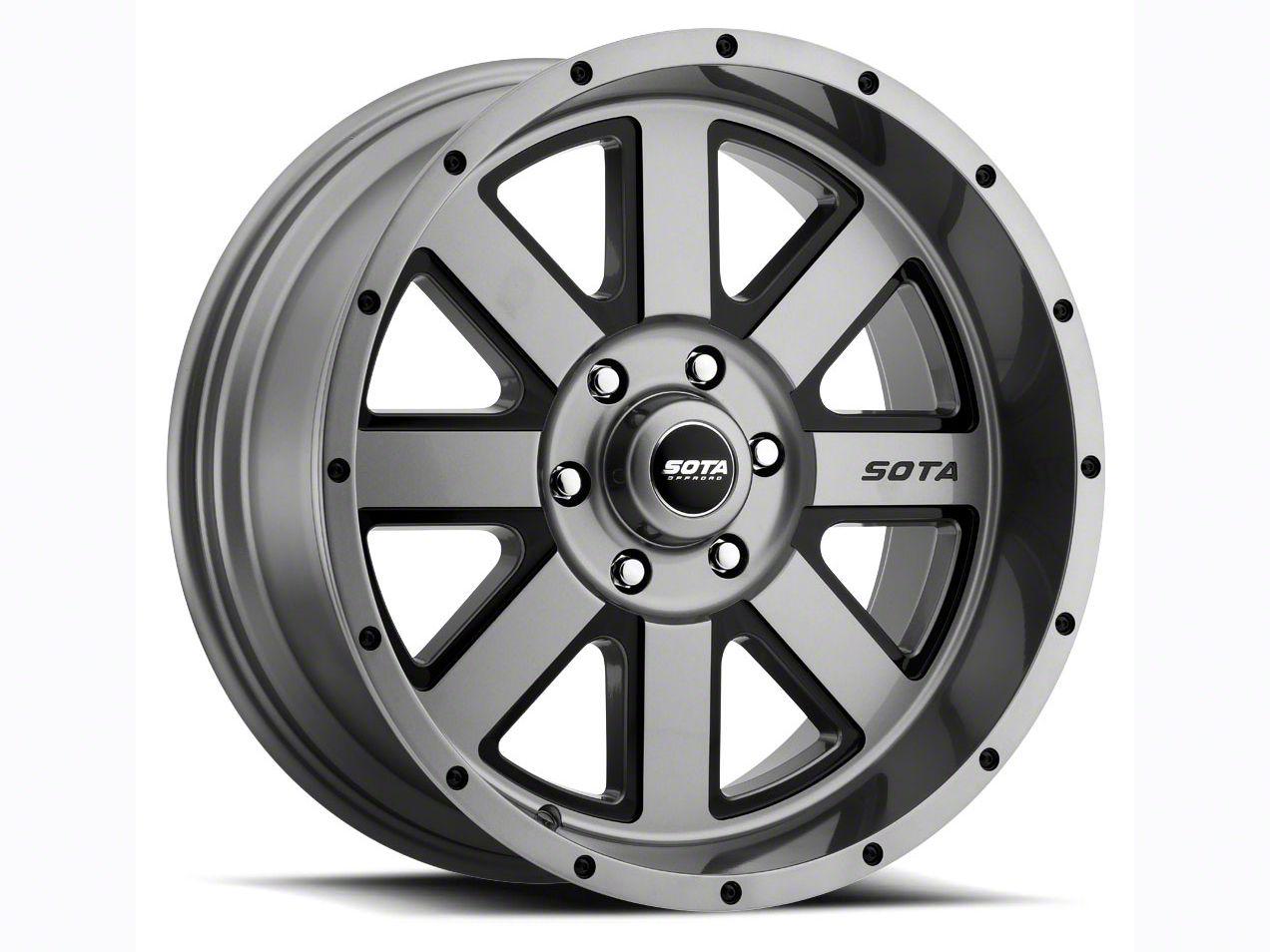SOTA Off Road A.W.O.L. Anthra-Kote Black 6-Lug Wheel - 20x10 (04-18 F-150)