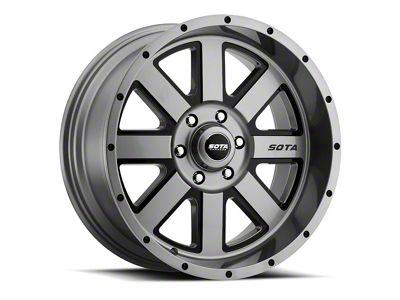 SOTA Off Road A.W.O.L. Anthra-Kote Black 6-Lug Wheel - 20x12 (04-18 F-150)