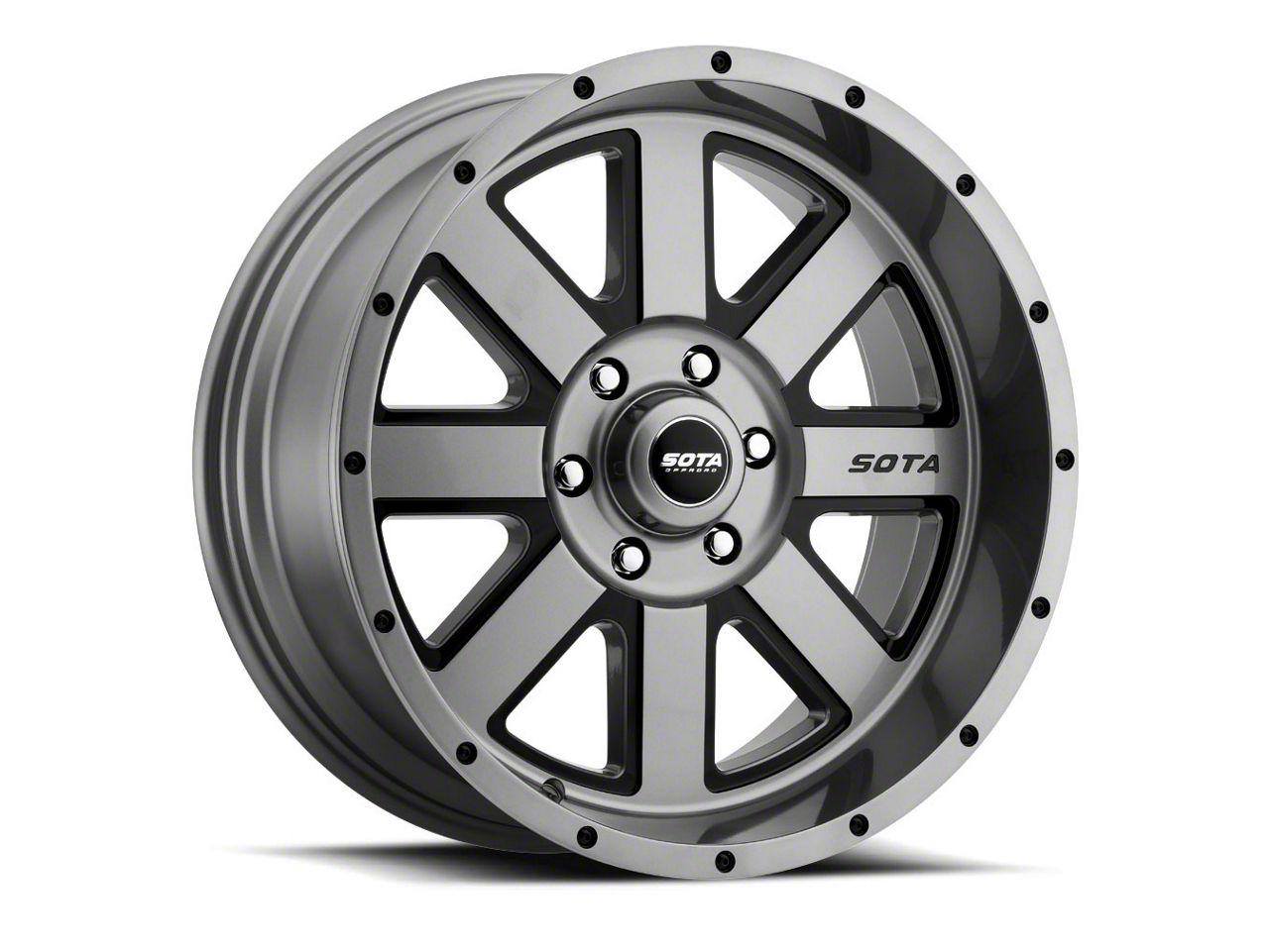 SOTA Off Road A.W.O.L. Anthra-Kote Black 6-Lug Wheel - 20x9 (04-18 F-150)