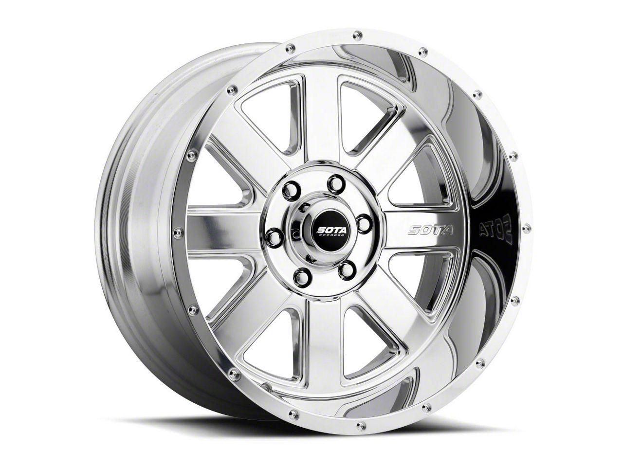 SOTA Off Road A.W.O.L. Polished 6-Lug Wheel - 22x12 (04-19 F-150)