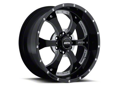 SOTA Off Road NOVAKANE Death Metal 6-Lug Wheel - 22x9.5 (04-18 F-150)