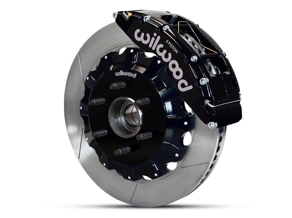 Wilwood TC6R 6-Lug Front Brake Kit w/ Slotted Rotors - Black (04-08 2WD F-150)