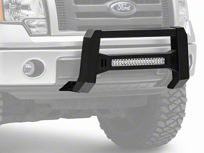 Barricade XHD Bull Bar w/ Dual Row LED Light Bar - Black (04-19 F-150, Excluding Raptor)