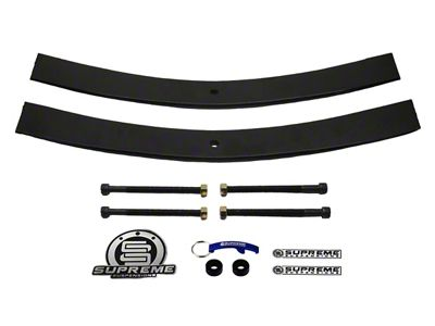 Supreme Suspensions 2 in. Rear Add-A-Leaf Spring Leveling Kit (97-03 F-150)