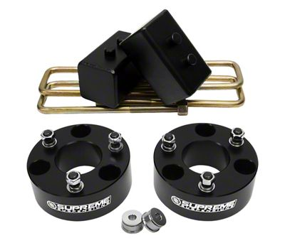 Supreme Suspensions 2 in. Front / 2 in. Rear Pro Lift Kit (04-19 2WD/4WD F-150, Excluding Raptor)