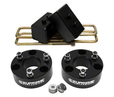 Supreme Suspensions 2.5 in. Front / 2 in. Rear Pro Lift Kit (04-19 2WD/4WD F-150, Excluding Raptor)