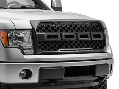 Barricade V2 Upper Replacement Grille w/ LED Lighting (09-14 F-150, Excluding Raptor)