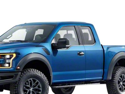 Black Horse Off Road Door Handle Covers - Black (15-19 F-150)