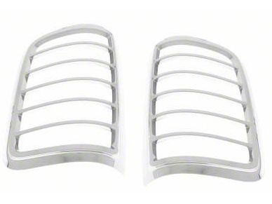 Black Horse Off Road Tail Light Bezels - Chrome (04-09 F-150 Flareside)