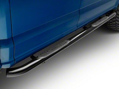 Smittybilt 3 in. Sure Side Step Bars - Black (15-18 F-150 SuperCab, SuperCrew)