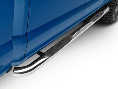 Smittybilt 3 in. Sure Side Step Bars - Stainless Steel (15-18 F-150 SuperCab, SuperCrew)