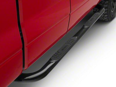 Smittybilt 3 in. Sure Side Step Bars - Black (04-08 F-150 SuperCab, SuperCrew)