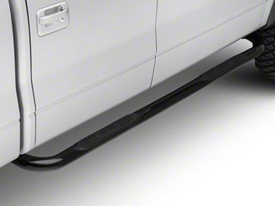Smittybilt 3 in. Sure Side Step Bars - Black (09-14 F-150 SuperCab, SuperCrew)