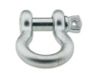 Smittybilt 1/2 in. 2 Ton D-Ring Shackle - Zinc