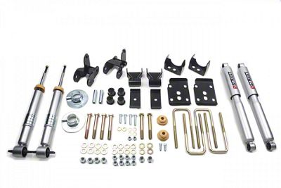 Belltech Lowering Kit w/ Street Performance Shocks - +1-3 in. Front / 4 in. (15-19 2WD F-150 w/ Short Bed)
