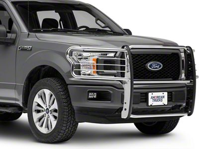Barricade Brush Guard - Stainless Steel (15-18 F-150, Excluding Raptor)