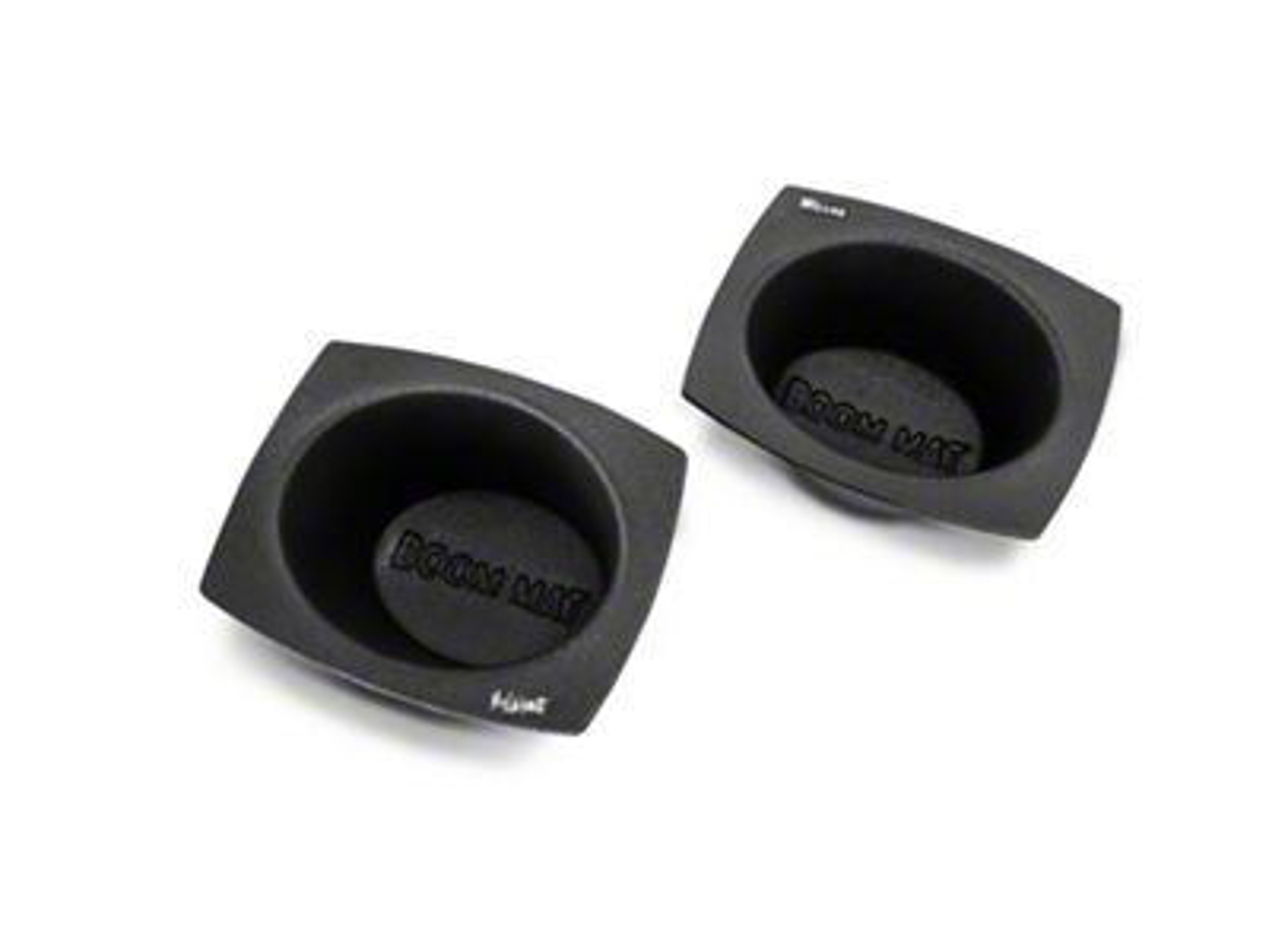 Boom Mat Speaker Baffles - 6x8 in. Oval (97-19 F-150)