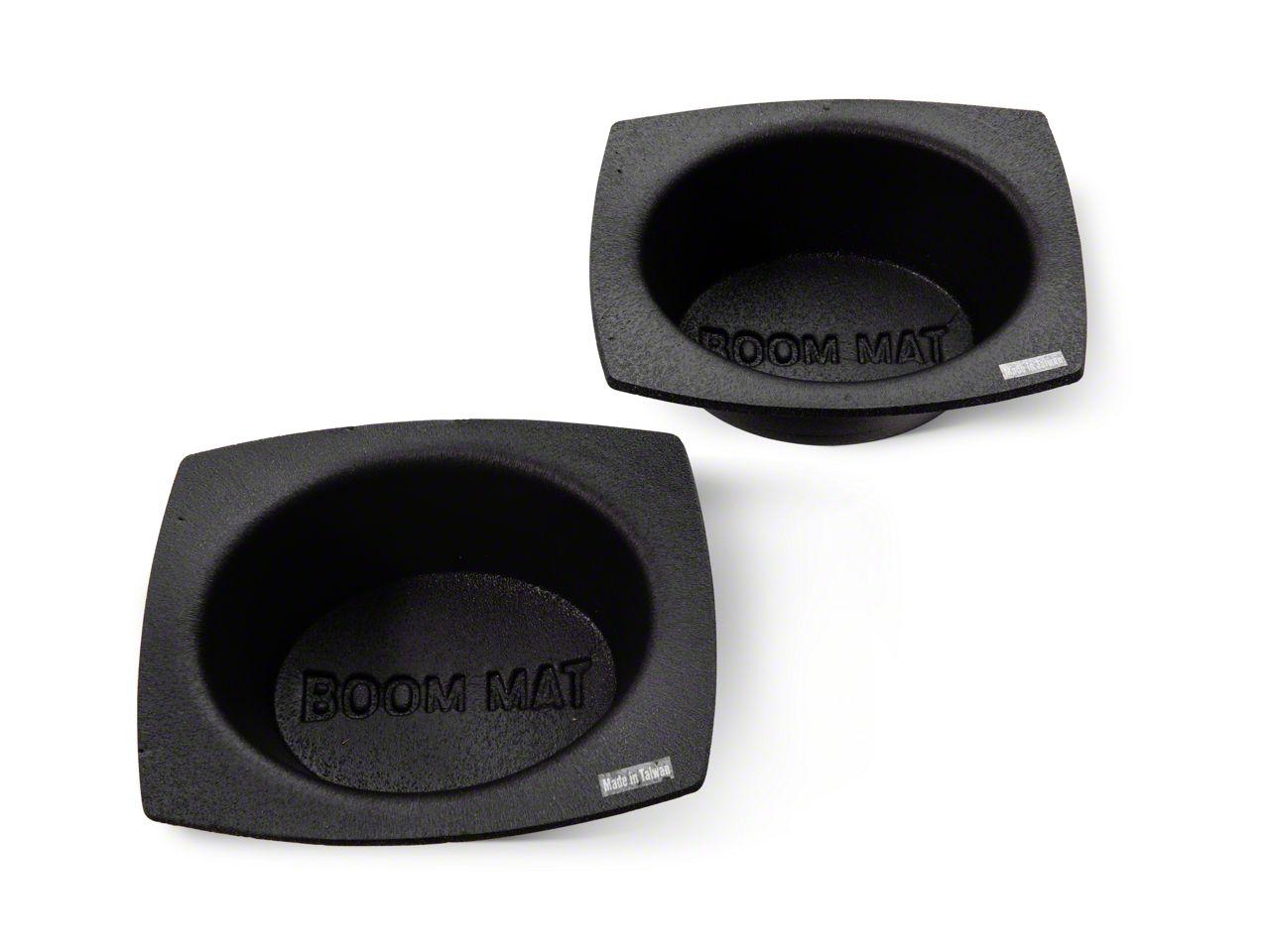 Boom Mat Speaker Baffles - 6x9 in. Oval (97-19 F-150)