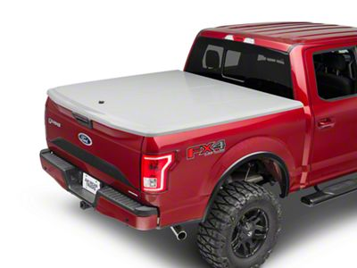 UnderCover LUX Hinged Tonneau Cover - Unpainted (15-19 F-150 w/ 5.5 ft. & 6.5 ft. Bed)