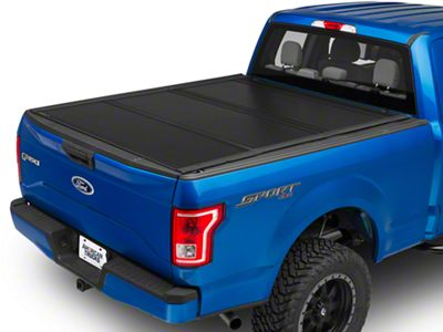 UnderCover Ultra Flex Tri-Fold Tonneau Cover - Black Textured (15-19 F-150 w/ 5.5 ft. & 6.5 ft. Bed)
