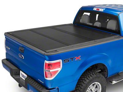 UnderCover Ultra Flex Tri-Fold Tonneau Cover - Black Textured (04-14 F-150 Styleside w/ 5.5 ft. & 6.5 ft. Bed)