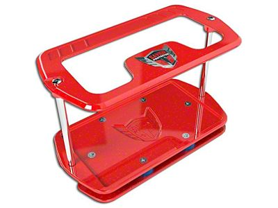 Savior Show Case for Group 27 Batteries - Red Sparkle (97-19 F-150)