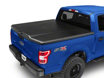 UnderCover Elite Hinged Tonneau Cover - Black Textured (15-18 F-150 w/ 5.5 ft. & 6.5 ft. Bed)