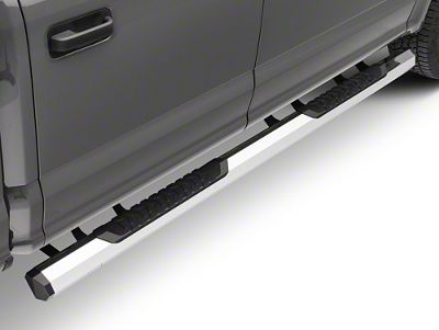 Barricade Octa Side Step Bars - Chrome (15-18 F-150 SuperCab, SuperCrew)