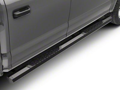 Barricade Octa Side Step Bars - Black (15-19 F-150 SuperCab, SuperCrew)