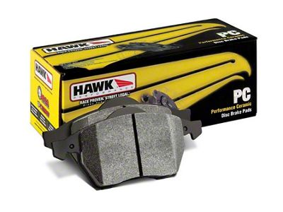 Hawk Performance Ceramic Brake Pads - Rear Pair (12-14 F-150; 15-18 F-150 w/ Manual Parking Brake)