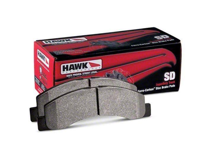 Hawk Performance SuperDuty Brake Pads - Front Pair (15-19 F-150)
