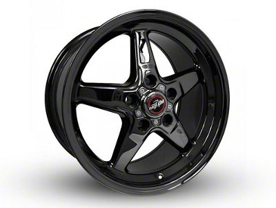 Race Star 92 Drag Star Dark Star Black Chrome 5-Lug Wheel - Direct Drill - 17x10.5 (97-03 F-150)