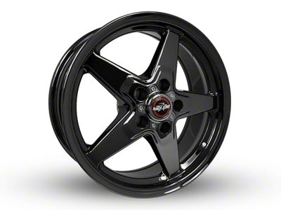 Race Star 92 Drag Star Dark Star Black Chrome 5-Lug Wheel - Direct Drill - 17x7 (97-03 F-150)