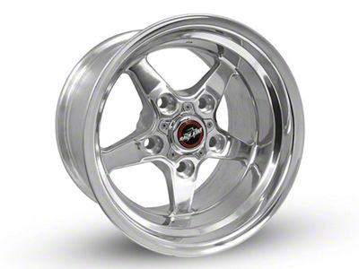Race Star 92 Drag Star Polished 5-Lug Wheel - Direct Drill - 15x10 (97-03 F-150)