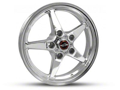 Race Star 92 Drag Star Polished 5-Lug Wheel - Direct Drill - 17x4.5 (97-03 F-150)