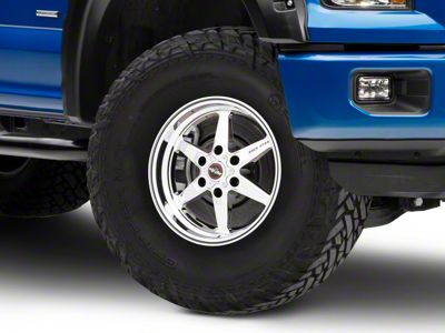 Race Star 93 Truck Star Chrome 6-Lug Wheel - 17x9.5 (04-18 F-150)