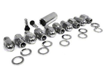 Race Star Closed End 10 Lug Nut Kit - 14mm x 2.0 in. (Late 00-03 F-150 Lightning)
