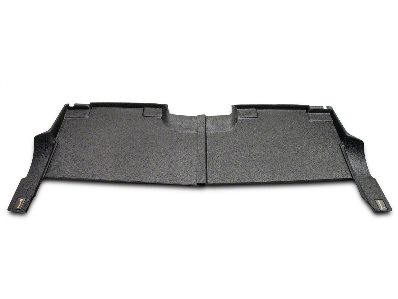 Weatherboots Heavy Duty Rear Floor Liner - Black (15-18 F-150 SuperCrew)