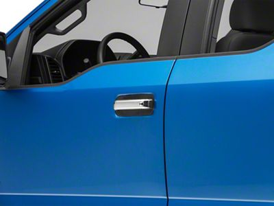 SpeedForm Chrome Door Handle Covers w/o Passenger Keyhole - Handle Covers Only (15-19 F-150 Regular Cab, SuperCab)