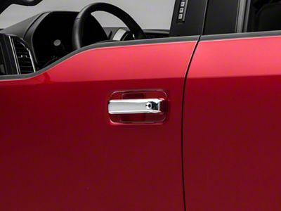 SpeedForm Chrome Door Handle Covers w/o Passenger Keyhole - Handle Only (15-19 F-150 SuperCrew)
