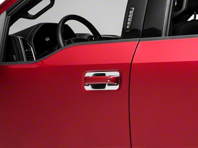 Chrome Door Handle Covers - Back Plate Only (15-19 F-150)