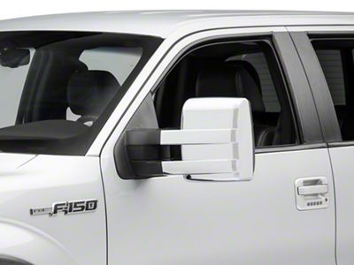 SpeedForm Chrome Towing Mirror Covers (09-14 F-150)