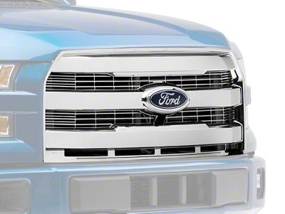 SpeedForm Upper Replacement Grille - Chrome (15-17 F-150, Excluding Raptor)