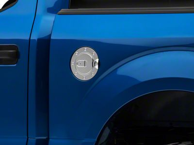 SpeedForm Chrome Fuel Door Cover (15-19 F-150, Excluding Diesel)