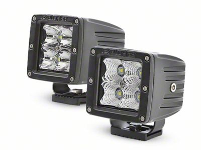 Pro Comp Suspension 4 in. Explorer Series LED Cube Lights - Flood Beam - Pair