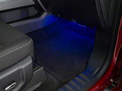 Delta Floor Accent LED Light Strip - Blue (97-19 F-150)