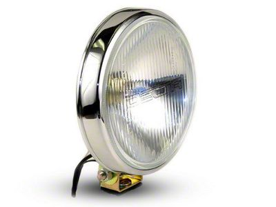 Delta 6 in. 100 Series Chrome Thinline Driving Light Kit - 55 Watt Xenon - Pair