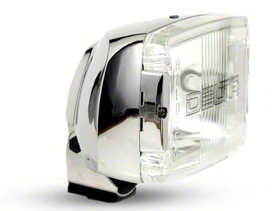 Delta 850H Series Chrome Rectangular Driving Light
