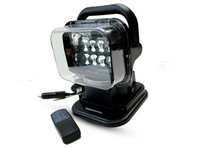 Delta Turret 360 Degree LED Spot Light w/ Remote Control