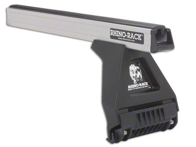 Rhino-Rack Heavy Duty RL150 2-Bar Roof Rack - Silver (09-14 F-150 SuperCab)